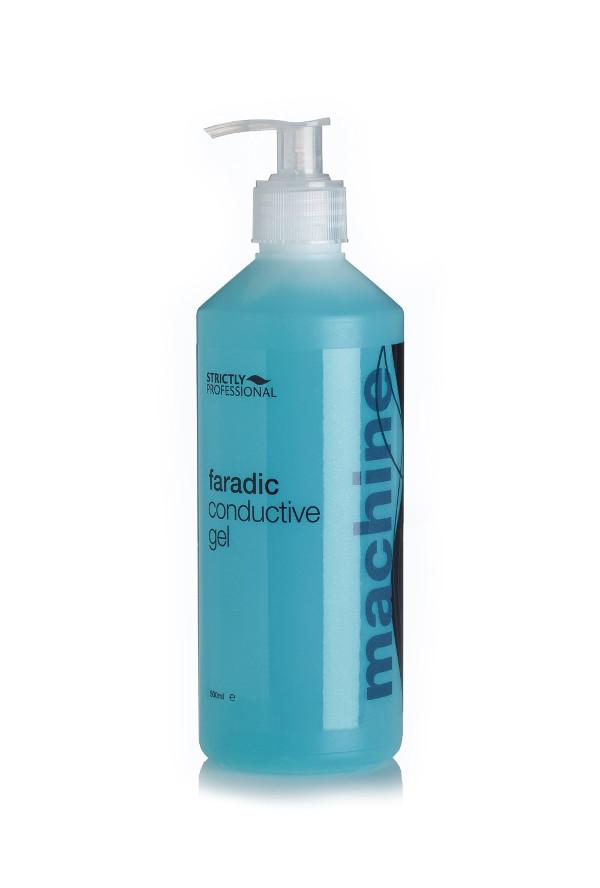 Tento gel je speciálně určený pro zařízení s faradickým mikroproudem.