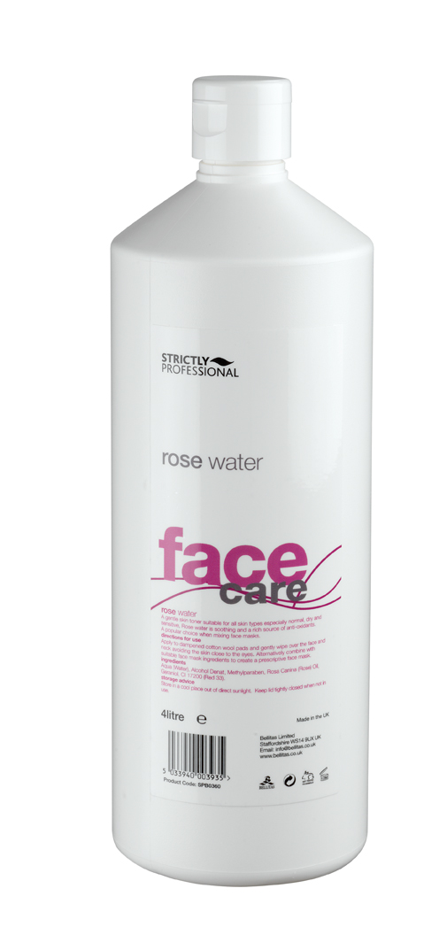 Pleťová voda z květů růže - 1L